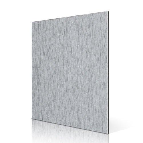 AL02 Silver Brushed Aluminum Composite Panel